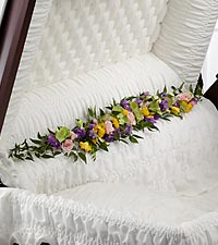 The FTD ® Trail of Flowers™ Casket Adornment