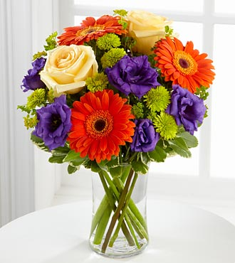 The FTD&reg; Rays of Solace&trade; Bouquet