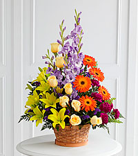 The FTD ® Forever Dear™ Arrangement- BASKET INCLUDED