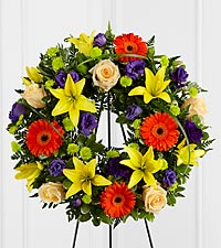 The FTD ® Radiant Remembrance™ Wreath