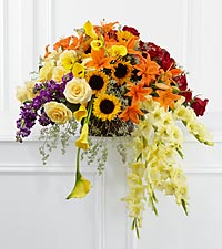 The FTD® Peaceful Tribute™ Arrangement