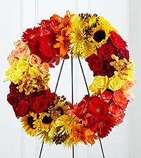 The FTD® Rural Beauty™ Wreath