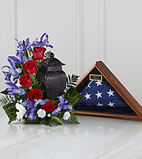 The FTD ® Patriotic Tribute™ Arrangement