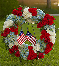 The FTD ® To Honor One's Country™ Wreath