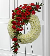 The FTD ® Graceful Tribute™ Wreath