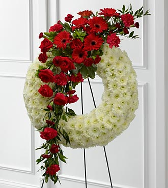 The FTD&reg; Graceful Tribute&trade; Wreath