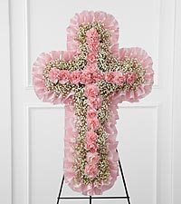 The FTD ® Angel's Cross™ Easel