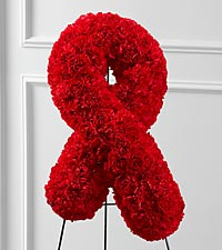 The FTD® Heartfelt™ Ribbon Easel