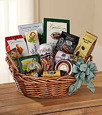 The FTD ® Warmth & Comfort™ Gourmet Basket