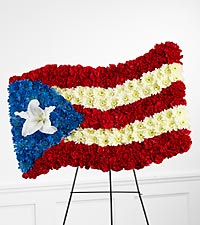 The FTD&reg; Devotion&trade; Flag Tribute