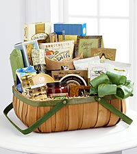 The FTD ® Heartfelt Sympathies™ Gourmet Basket