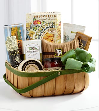 The FTD&reg; Heartfelt Sympathies&trade; Gourmet Basket