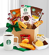Starbucks ® Sweets and Treats Gift Basket