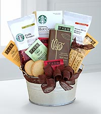 Starbucks® Cocoa & Coffee Gift Basket