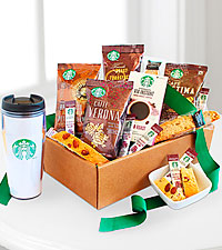 Starbucks ® Get Up & Go Box