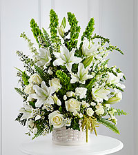 The FTD ® In Our Thoughts™ Arrangement-BASKET INCLUDED