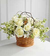 The FTD&reg; Peaceful Garden&trade; Basket