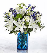 The FTD ® In The Clouds Above ™ Bouquet-VASE INCLUDED