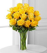 The FTD ® Long Stem Yellow Rose Bouquet