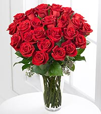The FTD ® Red Rose Bouquet