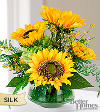 The Better Homes and Gardens ® Silk Harvest Sunflower Bouquet