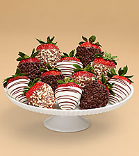 Full Dozen Gourmet Dipped Fancy Strawberries