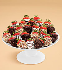 Two Full Dozen Gourmet Dipped Fancy Strawberries