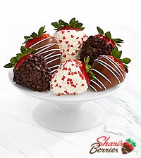 Half Dozen Valentine 's Strawberries