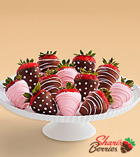 Full Dozen It 's a Girl Strawberries