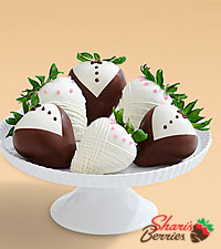 Half Dozen Hand-Dipped Wedding Strawberries