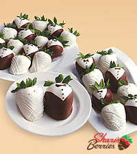 Two Dozen Hand-Dipped Wedding Strawberries