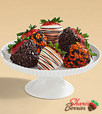 Half Dozen Gourmet Dipped Halloween Berries