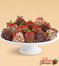 Full Dozen Hand-Dipped Father 's Day Strawberries