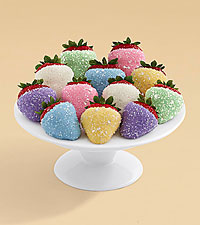 Full Dozen Easter Egg Strawberries