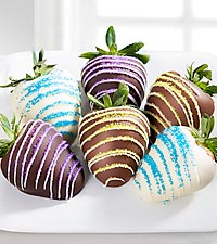 Chocolate Dipped Delights™ Refreshing Breeze Chocolate Covered Strawberries - 6 piece