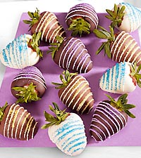 Chocolate Dipped Delights™ Refreshing Breeze Chocolate Covered Strawberries - 12 piece