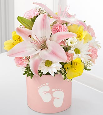 The Sweet Dreams&reg; Bouquet by FTD&reg; - Girl - VASE INCLUDED