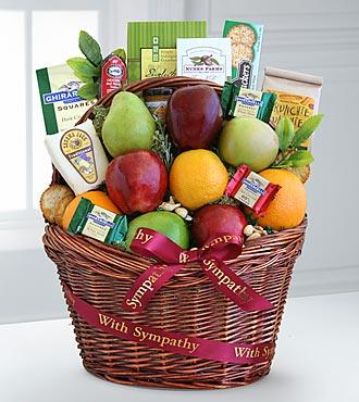 Comforting Kindness Fruit Basket - Best