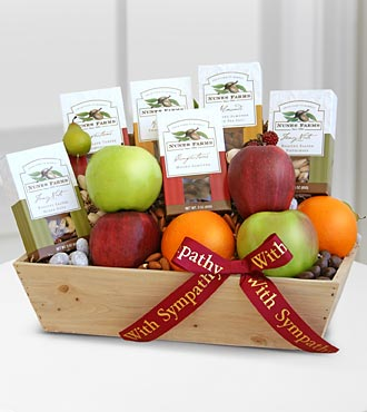 Love & Peace Gourmet Fruit & Nut Assortment