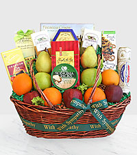 Sincere Sympathies Fruit Basket