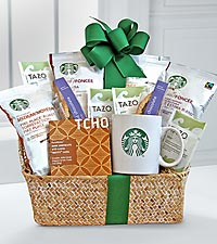 Starbucks&reg; Coffee & Tea Comforts Basket