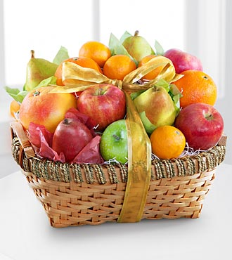 Sweet Sympathy Kosher Fruit Basket