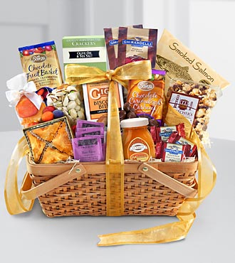 Warmest Regards Gourmet Kosher Gift Basket