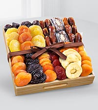 Kosher Gourmet Dried Fruit Tray