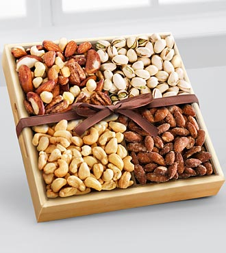 Kosher Assorted Nuts Tray
