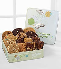 Mrs. Fields ® Deepest Sympathy Cookies - 8 Cookies & 6 Brownies