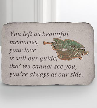 Beautiful Memories Memorial Stone