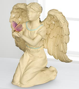 Butterfly Dreams Commemorative Angel Figurine