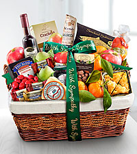 Sympathy Gourmet Market Favorites Fruit Basket
