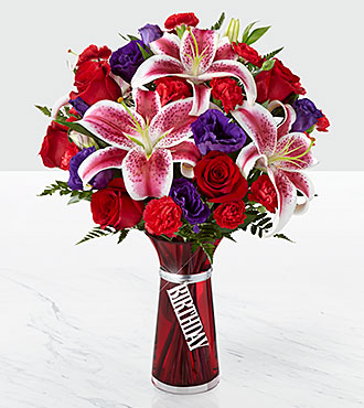 The FTD� Birthday Wishes? Bouquet